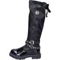 Pantofi Fete Cizme lungi peste genunchi Laura Biagiotti  Negru