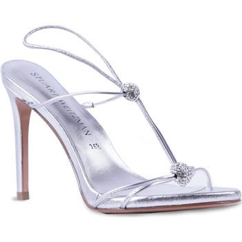 Pantofi Femei Sandale  Stuart Weitzman VL09249 argento
