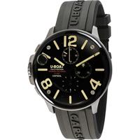 Ceasuri & Bijuterii Bărbați Ceasuri Analogice U-Boat 8111/C, Quartz, 45mm, 10ATM Argintiu