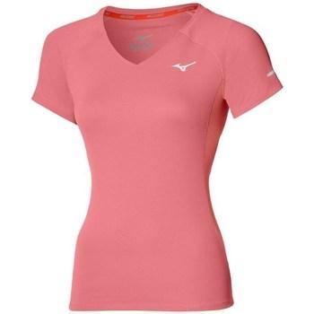 Îmbracaminte Femei Tricouri mânecă scurtă Mizuno Drylite Tee W Roz