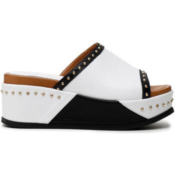 Pantofi Femei Papuci de vară Café Noir HH1360 Alb