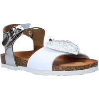 Pantofi Fete Sandale  Bionatura 22PUPAC Alb