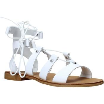 Pantofi Femei Sandale  Keys K-4880 Alb