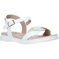 Pantofi Fete Sandale  Miss Sixty S21-S00MS962 Alb