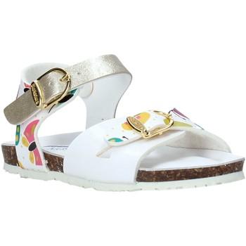 Pantofi Fete Sandale  Bionatura CHIARA Alb