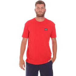 Îmbracaminte Bărbați Tricouri mânecă scurtă Ea7 Emporio Armani 3KPT63 PJ6EZ Roșu