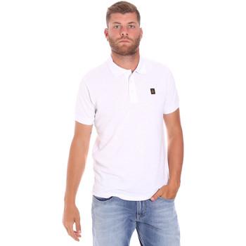 Îmbracaminte Bărbați Tricou Polo mânecă scurtă Refrigiwear RM0T25900PQ9002 Alb