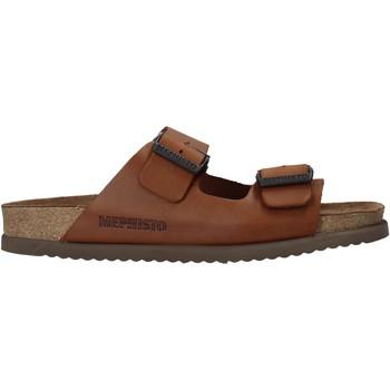 Pantofi Bărbați Papuci de vară Mephisto P5113700 Maro