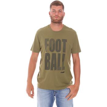Îmbracaminte Bărbați Tricouri mânecă scurtă Diadora 102175854 Verde