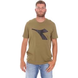 Îmbracaminte Bărbați Tricouri mânecă scurtă Diadora 102175852 Verde