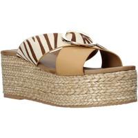 Pantofi Femei Papuci de vară Gold&gold A21 GK98 Bej