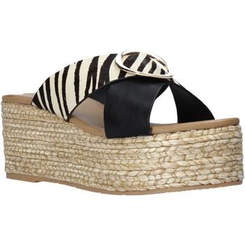 Pantofi Femei Papuci de vară Gold&gold A21 GK98 Negru