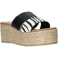 Pantofi Femei Papuci de vară Gold&gold A21 GK99 Negru