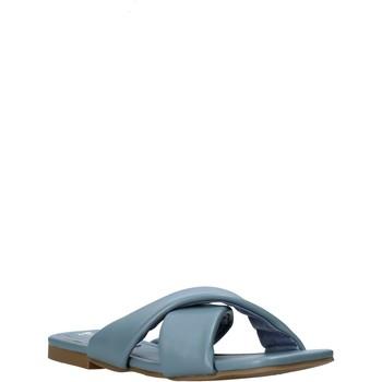 Pantofi Femei Papuci de vară Gold&gold A21 GY221 Albastru