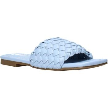 Pantofi Femei Papuci de vară Gold&gold A21 GY223 Albastru
