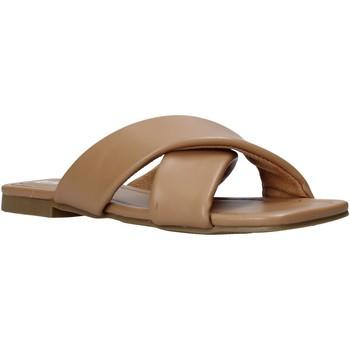 Pantofi Femei Papuci de vară Gold&gold A21 GY221 Maro
