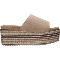 Pantofi Femei Papuci de vară Onyx S20-SOX751 Maro