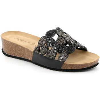 Pantofi Femei Papuci de vară Grunland CB2488 Negru