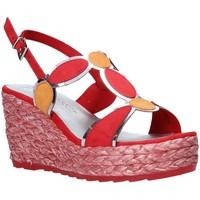 Pantofi Femei Sandale  Marco Tozzi 2-2-28342-26 Roșu