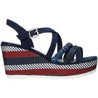 Pantofi Femei Sandale  Marco Tozzi 2-2-28375-26 Albastru