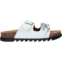 Pantofi Femei Papuci de vară Gold&gold A21 FL160 Alb