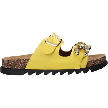 Pantofi Femei Papuci de vară Gold&gold A21 FL160 Galben
