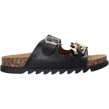 Pantofi Femei Papuci de vară Gold&gold A21 FL160 Negru