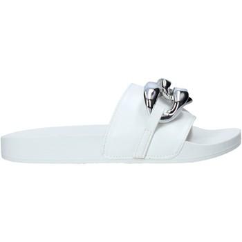 Pantofi Femei Papuci de vară Gold&gold A21 FL162 Alb