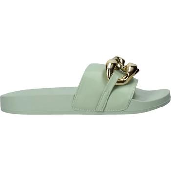 Pantofi Femei Papuci de vară Gold&gold A21 FL162 Verde