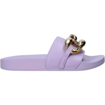 Pantofi Femei Papuci de vară Gold&gold A21 FL162 Violet