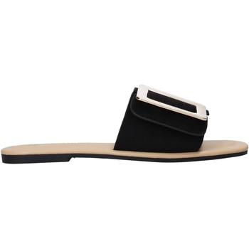 Pantofi Femei Papuci de vară Gold&gold A21 GJ551 Negru