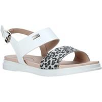 Pantofi Fete Sandale  Miss Sixty S20-SMS765 Alb