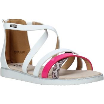 Pantofi Fete Sandale  Miss Sixty S20-SMS768 Alb
