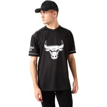 Îmbracaminte Bărbați Tricouri mânecă scurtă New-Era 12720120 Negru