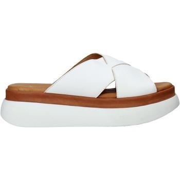 Pantofi Femei Papuci de vară Sshady L2206 Alb