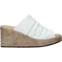 Pantofi Femei Papuci de vară Sshady L2501 Alb