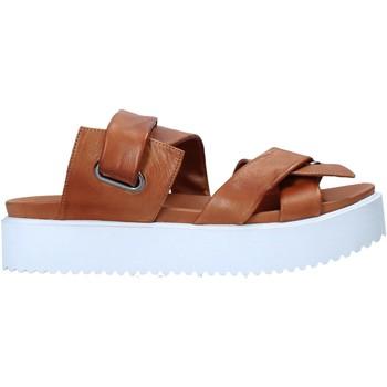 Pantofi Femei Papuci de vară Sshady MRT343 Maro