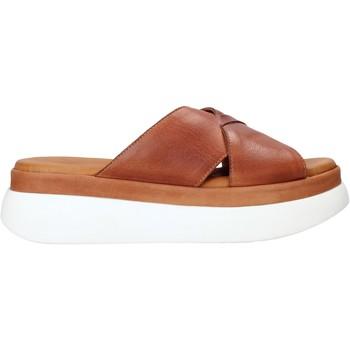 Pantofi Femei Papuci de vară Sshady L2206 Maro