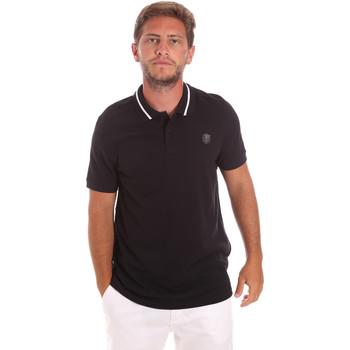 Îmbracaminte Bărbați Tricou Polo mânecă scurtă Roberto Cavalli FST693 Negru