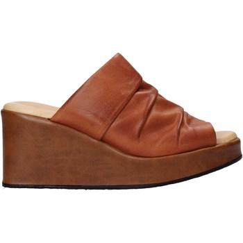 Pantofi Femei Papuci de vară Sshady L2501 Maro