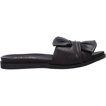 Pantofi Femei Papuci de vară Sshady MRT231 Negru