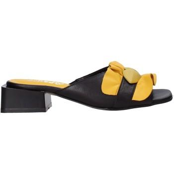 Pantofi Femei Papuci de vară Sshady MRT303 Negru