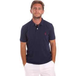Îmbracaminte Bărbați Tricou Polo mânecă scurtă U.S Polo Assn. 51007 49785 Albastru