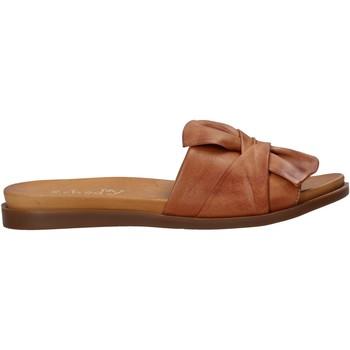 Pantofi Femei Papuci de vară Sshady MRT231 Maro