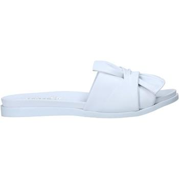 Pantofi Femei Papuci de vară Sshady MRT231 Alb
