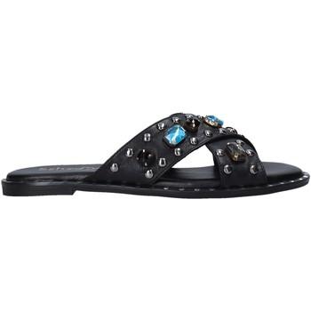 Pantofi Femei Papuci de vară Sshady MRT510 Negru