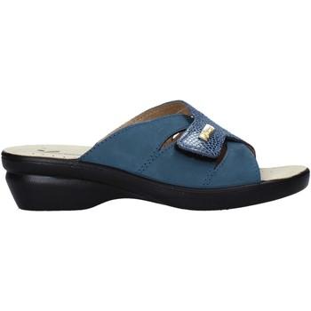 Pantofi Femei Papuci de vară Susimoda 1066 Albastru