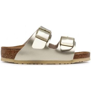 Pantofi Copii Papuci de vară Birkenstock Arizona Kids BF De aur