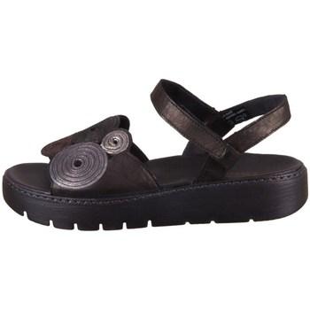 Pantofi Femei Sandale  Think Sing Negre, Cafenii