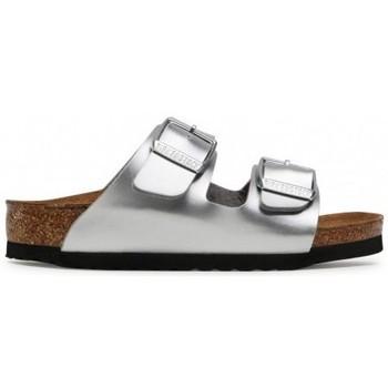 Pantofi Copii Papuci de vară Birkenstock Arizona Kids BF De argint